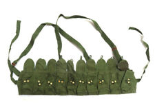 ORIGINAL CHINESE MILITARY SKS TYPE 56 SEMI AMMO CHEST-RIG BANDOLIER POUCH Green