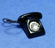 Miniature Dollhouse 70's Style Phone 1:12 Scale New D5371