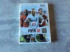 WII Fifa 12 2012 NINTENDO PAL FR COMPLET