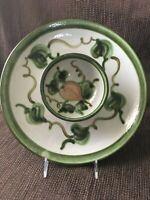 Vintage John B Taylor Ceramic Pottery Large Chip n Dip Platter Stoneware