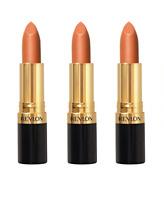 Revlon Super Lustrous Lipstick, Apricot Fantasy #120, 0.15 Ounce (Pack of 3)