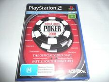 PlayStation 2 Ps2 World Series of Poker 2008 Game
