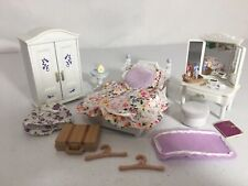 Calico critters/sylvanian families Girls Lavender Bedroom Furniture Vanity