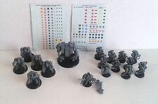 Warhammer 40K Space Marines- Complete Black Reach Army. Plastic. OOP