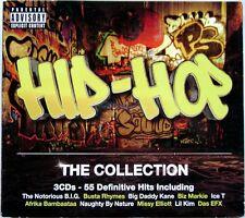 Cd Hip-Pop The Collection 3 dischi 55 Definitive Hits Usato raro