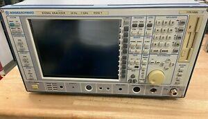 Rohde&Schwarz FSIQ7   Spectrum Analyzer 20Hz - 7GHz