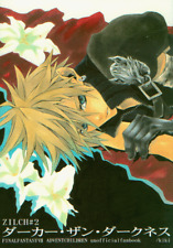 Final Fantasy 7 Vii Ff7 Doujinshi Comic Sephiroth x Cloud Zilch #2 Darker kiki