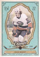2009-10 Upper Deck Champ's Hockey Green #63 Mike Bossy New York Islanders