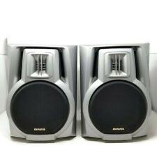 Pair Aiwa SX-NA202 Wired Speakers 15W 6 Ohms Tested