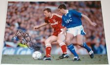 KEVIN SHEEDY EVERTON PERSONALLY SIGNED 10X8 AUTOGRAPH PHOTO SOCCER