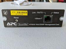 APC Smart Slot #AP9606 Web/SNMP Management Card
