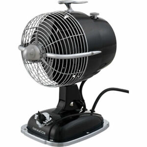 Urbanjet - 12 Inch Table Fan  Mysterious Black Finish Fan-Porta Fanimation Fans