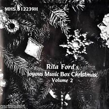 Christmas Music Box Rita Fords Joyous CD Volume 2 Mint Musical Heritage Society
