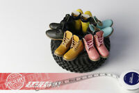 "1/6 Scale Female Hollow Shoes Boots Model Fit 12"" PH OB JO Action Figure Body"