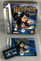 British Nintendo HARRY POTTER AND THE PHILOSOPHER'S STONE Game Boy BOX Booklet
