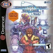 PHANTASY STAR ONLINE VERSION 2 SEGA DREAMCAST DISC ONLY