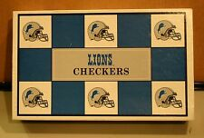 Lions / Green Bay Checker Board Game NFL Play Football