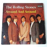 Rolling Stones - Around and Around - Vinyl LP French Mono Press Jan 65 + Inner