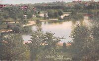 Minneapolis Minnesota~Curved Path Around Loring Park Pond~1910 PC