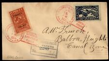Mayfairstamps PANAMA 1928 LINDBERGH VISIT COMBO FIRST DAY COVER wwe13375