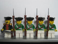 Lego PIRATES NAPOLEONIC WARS RUSSIAN Musketeer Infantry Soldiers MINIFIGS