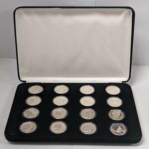 1979-1999 16 Piece Susan B Anthony Dollar Set UNC/Proof 187648p