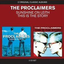 THE PROCLAIMERS - SUNSHINE ON LEITH/THIS IS THE STORY NEW CD