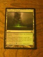 1x Temple of Malady, MP, Journey into Nyx, Commander EDH Golgari Scry Land