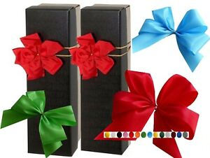 XXL 3x Bow With Zier-Gummiband Gift Loop Fabric Ribbon Finished Bow