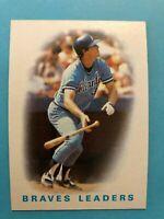 1986 Topps Atlanta Braves Complete Team Set - Horner/Sutter/Murphy/Forster