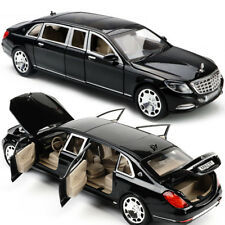 Mercedes Maybach S600 Limousine 1:24 Diecast Metal Model Car New in Box Black