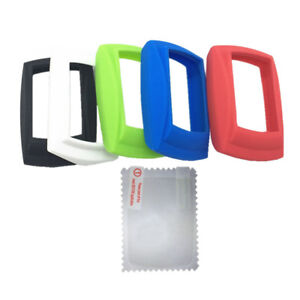 Bike Silicone Rubber Case & Screen Protector for IGPSPORT IGS50 GPS Computer