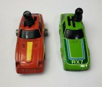 Vintage Schaper Shifter Cars Lot Of Two RX7 Turbo ZX (G36)