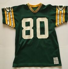 RARE James Lofton Green Bay Packers VINTAGE SAND KNIT JERSEY ADULT LARGE