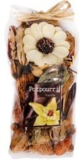 VANILLA FRAGRANCE POTPOURRI DRIED SCENTED FLOWERS HOME DECORATION PACK 120gr