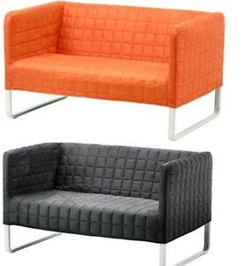 IKEA Two Seat KNOPPARP Sofa,4 Colors,Durable Metal Structure,New