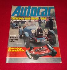 July Autocar Weekly Magazines