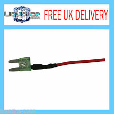 AAUTOLEADS MFS30A 30 AMP MINI SPUR BLADE FUSE LEAD CABLE FOR CAR VAN BUS VEHICLE