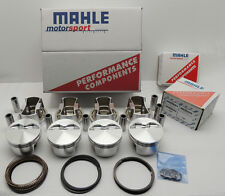 "SBC 350 CHEVY 5.0cc MAHLE FLAT TOP PISTONS 4.030"" BORE #WPM4030550F05"