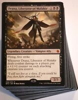 ***Custom Commander Deck*** Black Vampires, Drana Liberator of Malakir, Magic