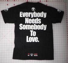 """Rolling Stones T-shirt S Black Flip Flop Flory """"Vive la Republique"""""""