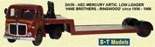 British Model Truck , Birthday Cake, AEC Mercury Low Loader - Hine Bros
