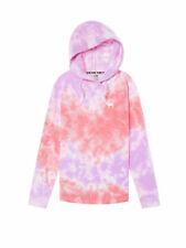 36620605c48 New VICTORIA'S SECRET PINK Tie Dye Oversized Crossover Tunic Hoodie Great  Gift