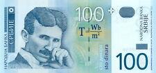 NIKOLA-TESLA-Paper-Money-Serbia-100-Dinars-UNC