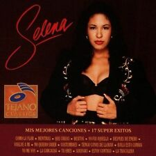 SELENA -  Mis Mejores Canciones: 17 Super Exitos - BRAND NEW AND SEALED CD