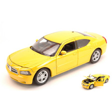 DODGE CHARGER DAYTONA R/T 2006 YELLOW 1:24 Welly Auto Stradali Die Cast