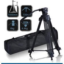 Fancier Video Photo Aluminum Tripod Fluid Pan Head Kit with Handle Case, FC270A