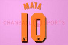 Mata #10 2010-2011 Chelsea UEFA Champions League Awaykit Nameset Printing