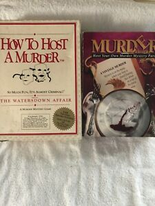 2 Murder A La Carte Host Your Own Murder Mystery Party & Watersdown Affair