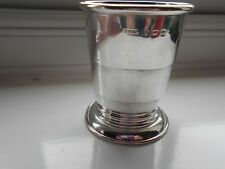 More details for sterling silver collapsible stirrup cup birmingham 1884.